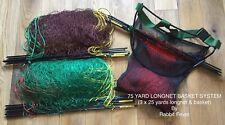 75YRD 6Z Quickset Panier système 3 x 25YRD longnets lapin//Tricheurs//chasse