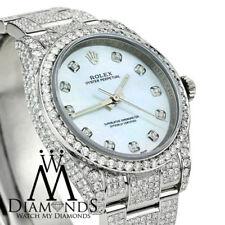 Orologi da polso Rolex con cinturino in acciaio inox di facile lettura