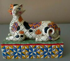 Jim Shore ~ Heartwood Creek ~ Enesco Retired Calliope Cat Figurine