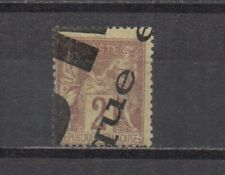 France : n° 85 (Type Sage 2 c. Brun-rouge : annulation typographique) Cote 10 €.