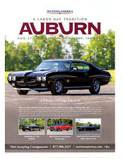 1970 PONTIAC GTO JUDGE RAM-AIR IV  ~  GREAT AUCTION AD