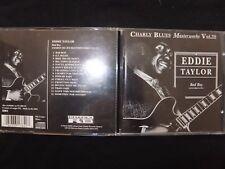 CD EDDIE TAYLOR / BAD BOY / CHARLY BLUES MASTERWORKS / VOL 35 / RARE /