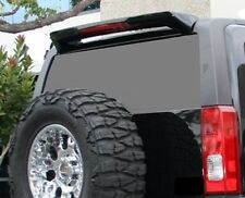 UN-PAINTED-GREY PRIMER REAR SPOILER FOR 2006-2010 HUMMER H3 W/ 3RD LED LIGHT