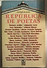 Anthologia de poesia - Republica de poetas