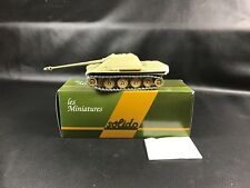 "SOLIDO MINIATURE MILITAIRE CHAR JAGDPANTHER N°57  BOITE + DECALCOMANIE ""23"""