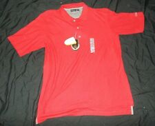 NEW WITH TAGS MEN'S WALTER HAGEN SHORT SLEEVE RED POLO SIZE LARGE