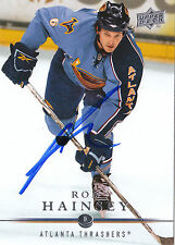 RON HAINSEY THRASHERS AUTOGRAPH AUTO 08-09 UPPER DECK #263 *10628