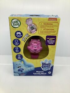 New Nickelodeon Blues Clues Magenta Learning Watch By Leap Frog - Free Shipping