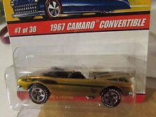 Hot Wheels Classics 1967 Camaro Convertible #7 of 30 Series 2 Gold