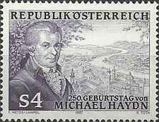Timbre Musique Autriche 1729 ** lot 12017