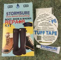 STORMSURE Waterproof Repairs Rubber Boot Shoe Wader Repair Kit Sails,Bags Tent