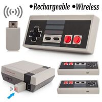2pcs Wireless Gamepad Game Controller For Nintendo NES Classic Edition Console