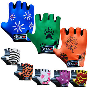 Junior Cycling Gloves Bicycle Cycle Leather Padded Gloves Children,Kids,Youth