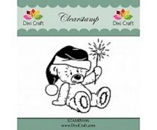 Dixi Craft Clear Stamp - Teddy Bear - STAMP0106