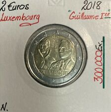 Luxembourg - 2 Euro 2018 - GUILLAUME 1ER