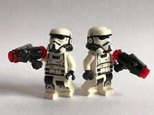 2 Original Lego Star Wars Imperial Patrulla espacial (75207) 2018 armas