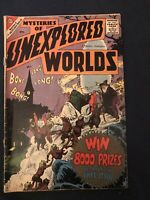 MYSTERIES OF UNEXPLORED WORLDS #12 (1959) KEY ISSUE: Ditko & Baker art: VG- (Q)