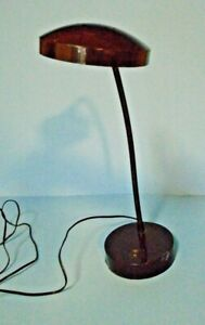 Black Flexible Bright Light Desk Lamp