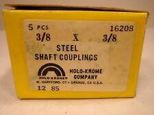 "Shaft  Coupling   3/8"" X  3/8""  Steel       1 Pc!"