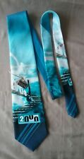 Gold City Year 2000 men's tie polyester NWOT hand made