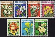 CAMBODGE Kampuchea N°477/483** Fleurs 1984, CAMBODIA Flowers Sc#511-517 MNH