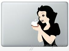 Snow White Decal Sticker Skin Stickers for Macbook Pro Air 13 15 17 '' inch SWEV