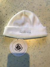 Petit Bateau Mütze Niki Weiß 3 6 Mo - 43 45 - 62 68 Mädchen Jungen Baby 👶 - NEU