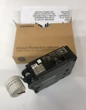 Siemens QF115A 15 Amp Ground Fault Circuit Interrupter With Self Test- Type QPF2