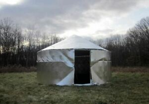 Lightweight Flexible Rot Proof Reflective Insulation Tents Yurts Marquees