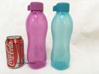 Neu TUPPERWARE Eco Easy Ecoeasy Trinkflasche Flasche 750ml Türkis blau , Lila
