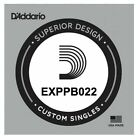D'Addario EXPPB022 EXP Coated Phosphor Bronze Acoustic Guitar Single String .022 for sale