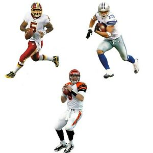 NFL TEAM PLAYER FATHEAD JUNIOR WALL ACCENT - Football Player Peel Stick Decal