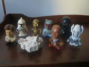 Burger King Star Wars Toys Lot 2005 Revenge of the Sith - Darth C-3PO Boba Fett+