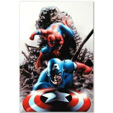 MARVEL Comics Numbered Limited Edition Spectacular Spider-Man Canvas Art