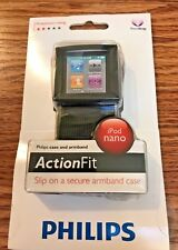 Philips ActionFit Sports Case Armband Ipod Nano Brand New Walking Music Podcasts
