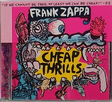 FRANK ZAPPA: Cheap Thrills CD w/ COVER FLAP Near Mint MOTHERS INVENTION