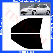Pre Cut Window Tint Honda Civic 3D Hatchback 1995-2001 Front Sides Any Shade