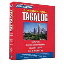 PIMSLEUR Learn to Speak TAGALOG Language 8 CDs NEW!!