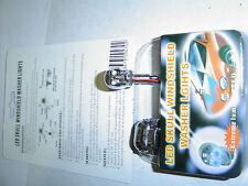 Chrome Skull Washer Nozzels/Jets with Blue LED Eyes Sent Registered Post