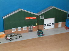 2 Low Relief Industrial Units Self Assembly Card Kits Only available here.