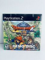 (NEW, SEALED) Dragon Quest VIII 8 Promo Demo Disc Sony PlayStation 2 PS2