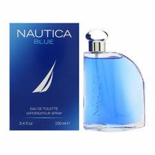 NAUTICA BLUE Cologne for Men 3.4 oz Eau de Toilette Spray, New In Box