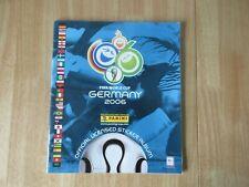 Panini Germany 2006 World Cup Empty Album & 6 Starter Stickers UK Version No 1