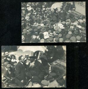 Aberayon Aberaeron General Booth Salvation Army 2 RP Postcards 1907