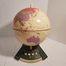 GeoSafari World ExploraToy 6490 Electronic Vintage Talking Globe Geography Game