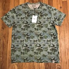 Lucky Brand Palm Tree T Shirt Size Large