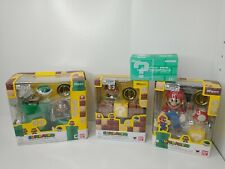 S.H.Figuarts Super Mario Diorama Play Sets lot of 4  + 1UP  US Seller