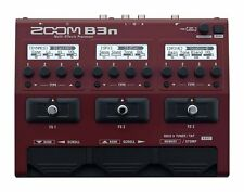 Zoom B3n Multi Effect Processor Stomp Pedal for Bass NEW FREE EMS
