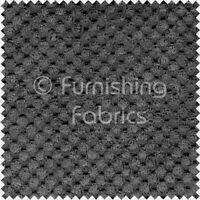 Soft Velvet Spotted Jumbo Cord Upholstery Material Sofas Fabrics Charcoal Grey