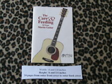 A+ clean C.F. Martin & Co. The Caring & Feeding Of Your Martin Guitar brochure